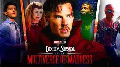 Spider Man, Doctor Strange, Scarlet Witch, Kang the Conqueror, Tom Holland, Elizabeth Olsen