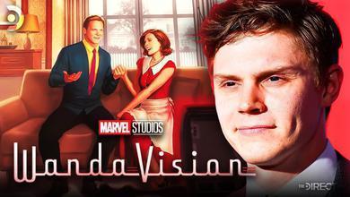 WandaVision Concept Art and Evan Peters