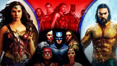 Justice League Wonder Woman Aquaman