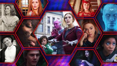 WandaVision Episodes in Hexagons