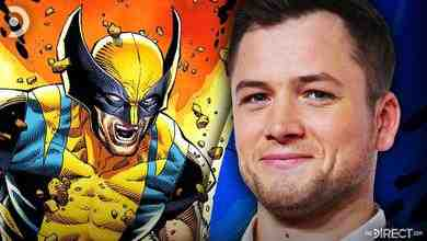 Taron Edgerton and The Wolverine