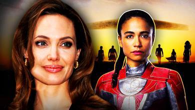 Angelina Jolie, Lauren Ridloff, Eternals Makkari