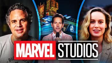 Avengers Campus Mark Ruffalo Paul Rudd Brie Larson