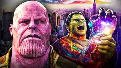 Thanos Hulk Blip New York