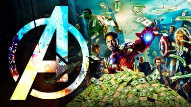 Avengers poster money