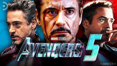Robert Downey Jr Iron Man Tony Stark Avengers 5