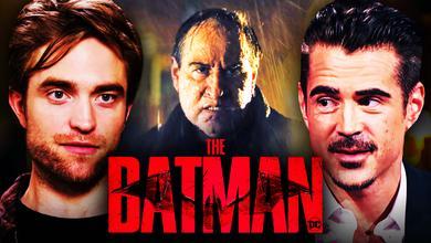The Batman Robert Pattinson Colin Farrell Penguin