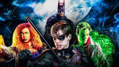 Batman Titans Show Background