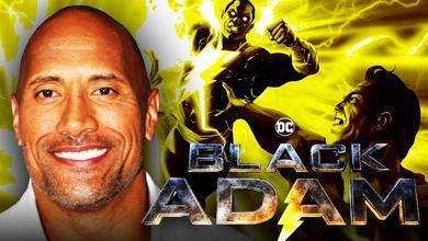 Dwayne Johnson, Black Adam, Superman
