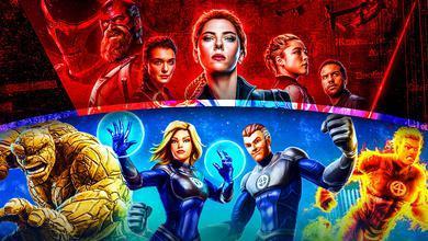 Black Widow Fantastic Four Background