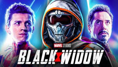 Black Widow Iron Man Spider Man Taskmaster