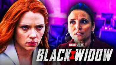 Black Widow Val Julia Louis Dreyfus