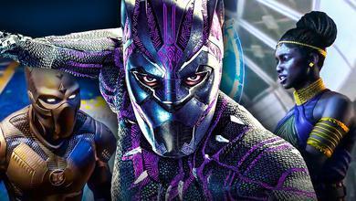 Black Panther Marvel's Avengers Shuri
