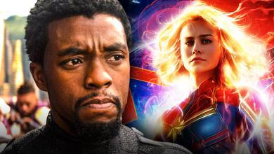 Black Panther Captain Marvel