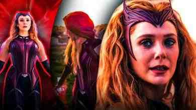 Scarlet Witch Costume Elizabeth Olsen