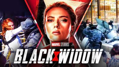 Black Widow Scarlett Johansson Movie Sets