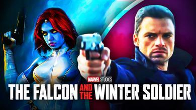 Mystique, Bucky, The Falcon and the Winter Soldier