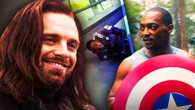 Sebastian Stan, Bucky Barnes, Anthony Mackie, Captain America
