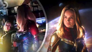 Brie Larson's First Day of Avengers: Endgame Shoot