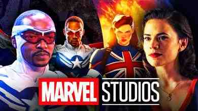 Captain Carter, Anthony Mackie as Captain America, Hayley Atwell as Peggy Carter, Marvel Studios