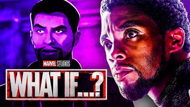 Chadwick Boseman Black Panther What If MCU