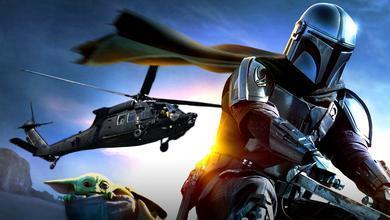 The Mandalorian Season 2 Helicopter