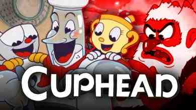 Cuphead characters smiling