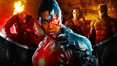Cyborg Darkseid Justice League