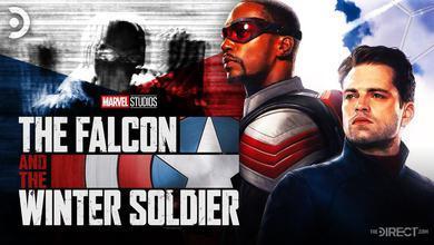Falcon and the Winter Soldier Logo, Falcon, Winter Soldier