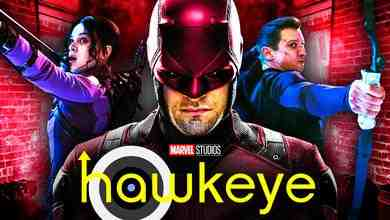 Daredevil, Hawkeye series logo