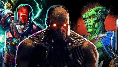 Darkseid Flash Martian Manhunter