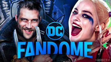 Captain Boomerang, DC Fandome Logo, Harley Quinn