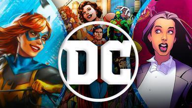 DC logo Batgirl Zatanna
