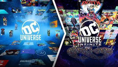 DC Universe and DC Universe Infinite