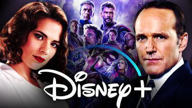 Agent Coulson Agent Carter Avengers Disney Plus Logo