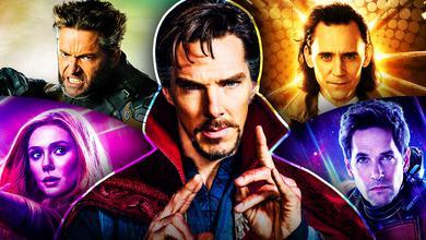 Doctor Strange Wolverine Loki Scarlet Witch Ant-Man