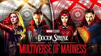 Benedict Cumberbatch, Elizabeth Olsen in Doctor Strange in the Multiverse of Madness, Scarlet Witch