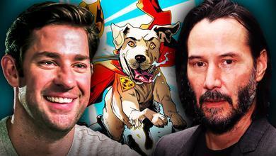 John Krasinski, Keanu Reeves DC SuperPets Movie Krypto