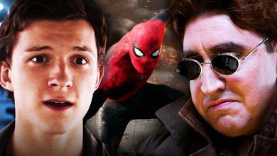 Spider-Man 3 logo, Alfred Molina as Doctor Octopus