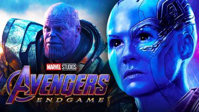 Nebula Thanos Avengers Endgame