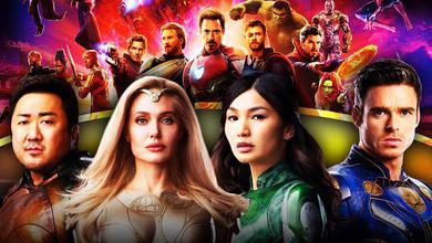 The Avengers, Eternals, Angelina Jolie, Gemma Chan