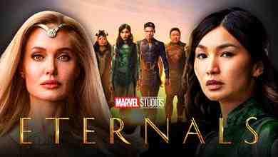 Eternals, superheroes, Angelina Jolie, Gemma Chan