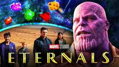 Eternals Thanos Infinity Stones