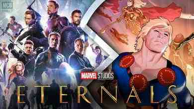 The Eternals will be set after Avengers: Endgame