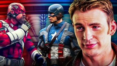 Chris Evans Captain America David Harbour Red Guardian