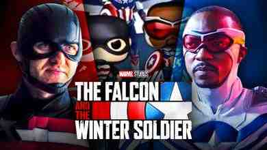 John Walker as U.S. Agent, Sam Wilson as Captain America