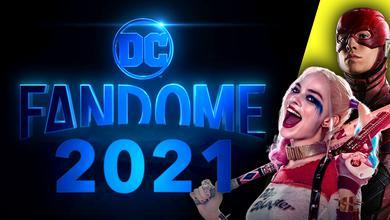 DC FanDome Logo, Harley Quinn, The Flash