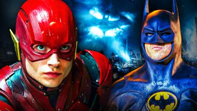 Flash Batman Michael Keaton