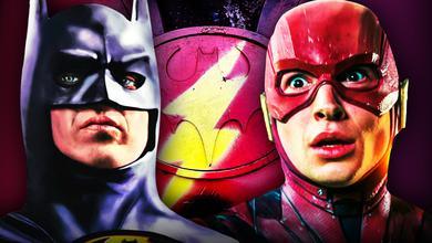 Batman Michael Keaton Flash Movie