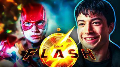 The Flash Ezra Miller Hair